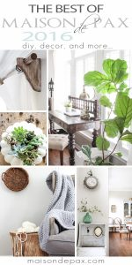 So many fabulous diy projects, decorating ideas, and home decor! best of maisondepax.com 2016