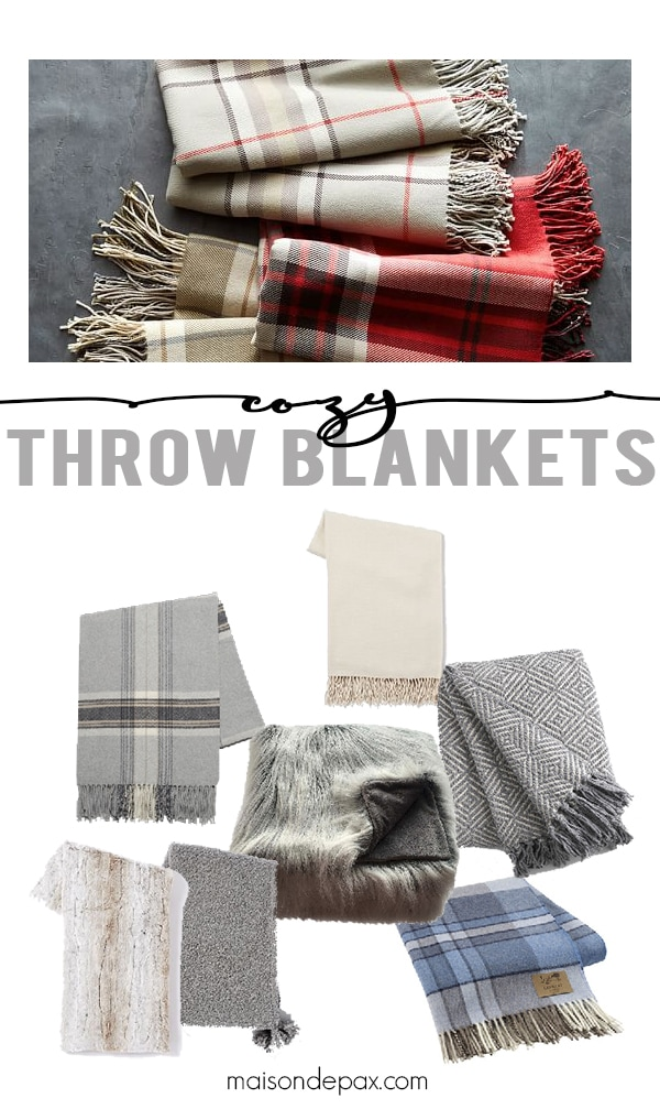 The perfect accessory for fall, winter, and even air modern conditioning is a cozy throw blanket. They instantly make every room warmer, more comfortable.... and provide color, texture, and beauty along the way. Click here for a collection of the best cozy throw blankets!