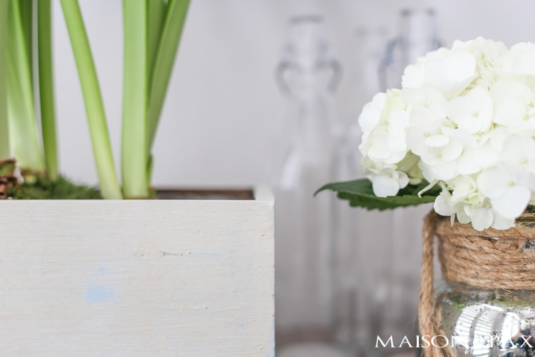 Step by step tutorial to help you achieve an authentic looking aged, layered paint finish. Using a combination of chalk based paint and milk paint, this textured, antique look is simply beautiful!