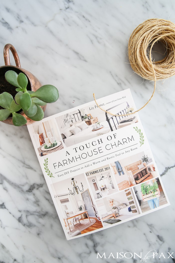 Looking to add a little farmhouse charm to your space? This DIY botanical hanging is so easy. Make it AND so many other fun, farmhouse, DIY Projects.